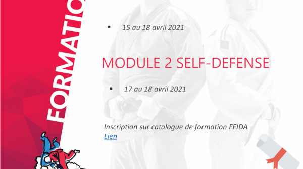 Stage National FFJDA en BFC !!! #SELFDEFENSE
